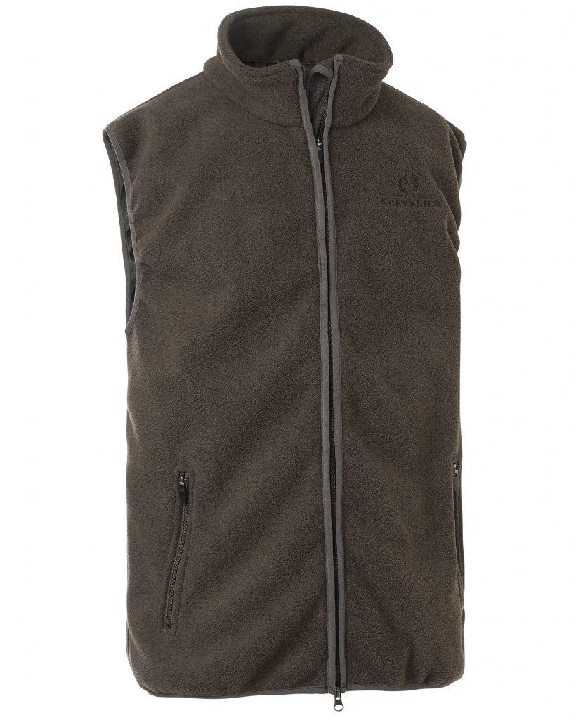 Chevalier Bylot Fleece Gilet (Green)