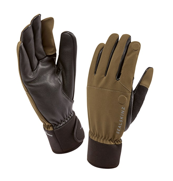 Sealskinz shooting gloves - Olive green