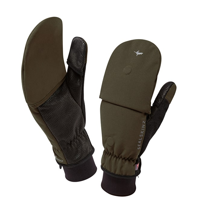 Sealskinz outdoor sports mitten - Olive green