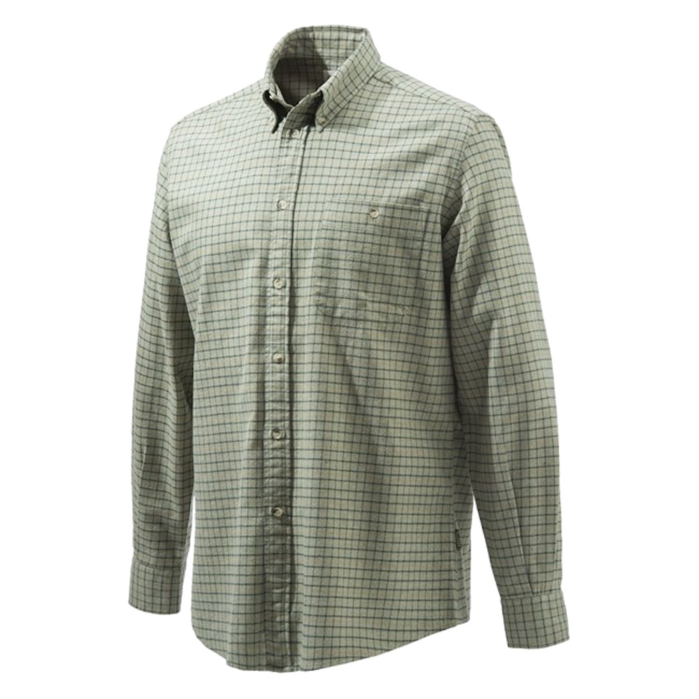Beretta Sport Classic Shirt in Green Check