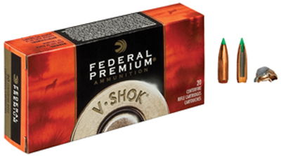 Federal Premium Ammunition 223 Remington 55 Grain Nosler Ballistic Tip Box of 20