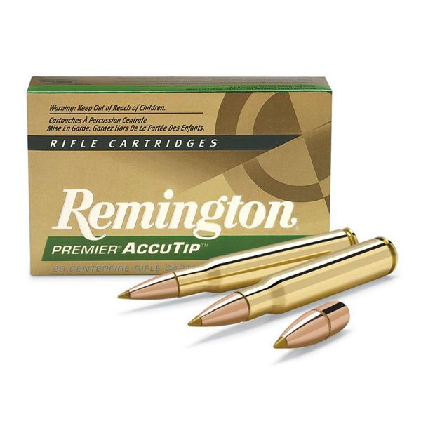 Remington .22-250 50gr Accutip  Boat Tail